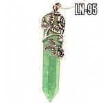 Green Aventurine Flower & Rose wand